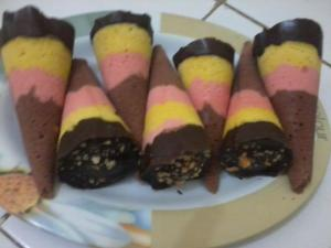 apam cornetto by Sufia Rini