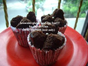 brownies gluten free by Levina