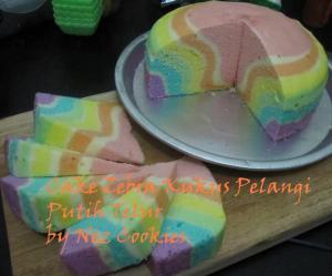 cake zebra kukus by Inez Cookies