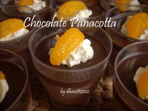 Chocolate Panacotta by dhani rs
