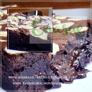 Chunky Bar Melted Brownie by Afi Dapur Junior