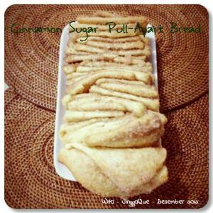 Cinnamon Sugar Pull Apart Bread by Dwita