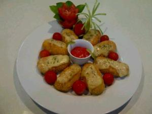 French Mozzarella Croquets by Angela Florence