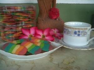lidah kucing rainbow Wina