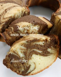 marble cake by drs