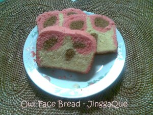 Owl Face Bread