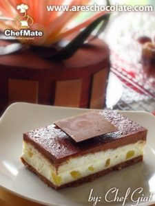 Pinacolada Chocolate Cake by ChefMate