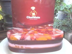 puding choco fruityby winaz sadono