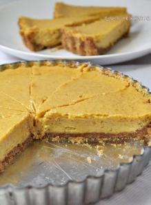 Pumpkin cheese pie by Alice Prasetyo