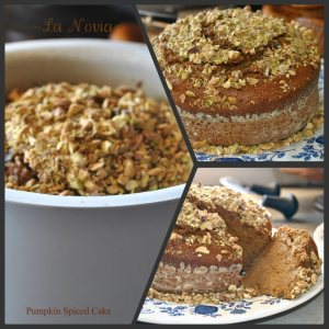 Pumpkin Spiced Cake by Poppy Williams