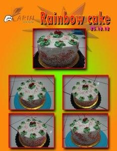 Rainbow Cake by Rinjani Tsabitha