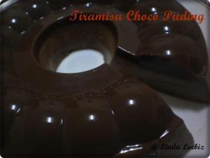 Tiramisu Choco Pudding