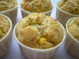 Tuna and Sweet Corn Muffins by Yetty Prathivi