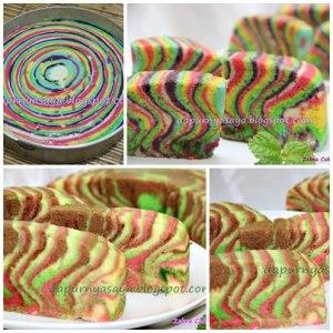 Zebra Cake Putel by LalaVembri