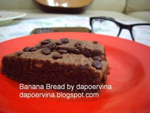 banana bread by Levina Chandra