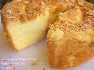 chiffon cheese cake by Yetty Prathivi