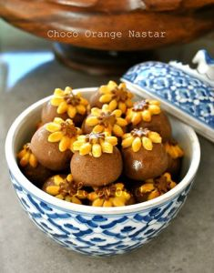 Choco Orange Nastar by Poppy LN Williams