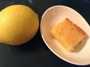Crunchy-topping lemon slice by Noviyane Collier.