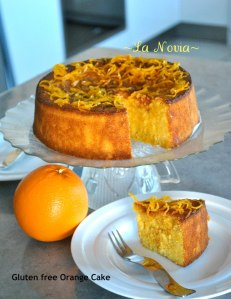 Gluten Free Orange Almond Cake by Poppy LN Williams