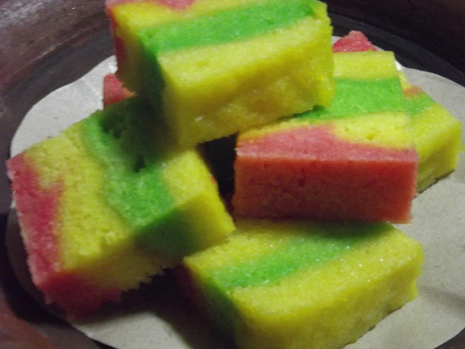 Resep Rainbow Cake Kukus Istimewa: RESEP RAINBOW CHEESE CAKE KUKUS