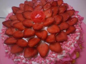 Strawberry cake Free Glutten by Linda Loebiz