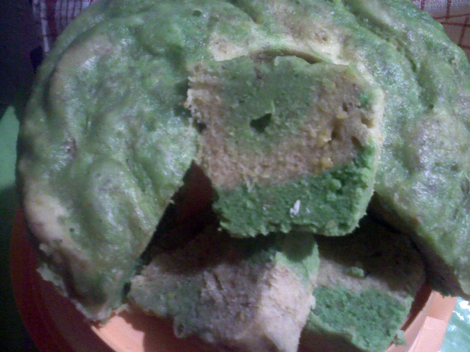 Pin Brownies Pandan Kukus Ncc Resepkue In Resep Masakan Chef Cake on