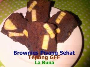 Brownies Pisang Sehat by Siti R Wiyoto