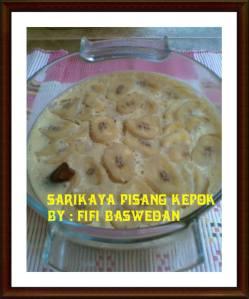 Sarikaya pisang Kepok by Fifi Baswedan