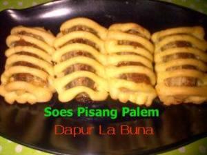 Soes Pisang Palem by Siti R Wiyoto