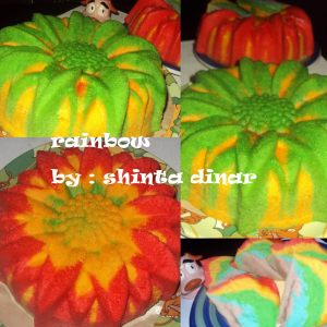 Cake Rainbow Putel by Shinta Dinar