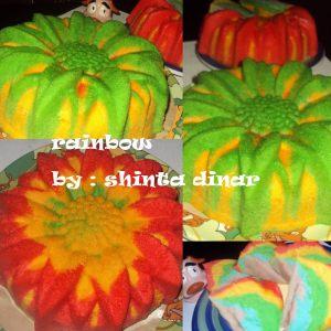 Cake Rainbow Putel by Shinta Dinar