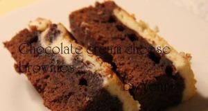 Chocolate cream brownies