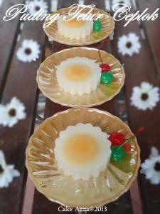 puding telur ceplok by Rita Candrasari